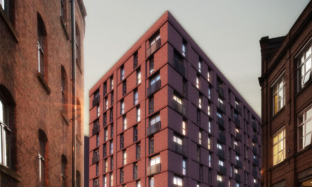 Eider House, Manchester Project
